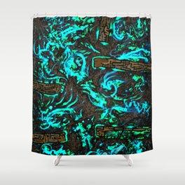 Psyesquivel 02 muddyice Shower Curtain