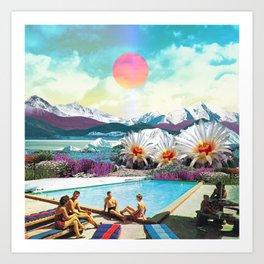 A day of summer Art Print