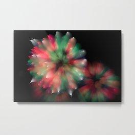 Firework Kaleidoscope  Metal Print