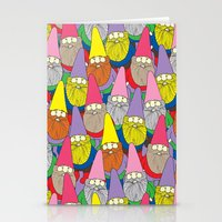 gnome Stationery Cards featuring Mister Gnome by Lydia Meiying