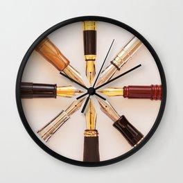 Penwheel Wall Clock