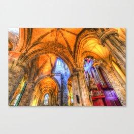 St Giles Cathedral Edinburgh Scotland Canvas Print
