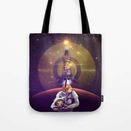 Rocketman Tote Bag