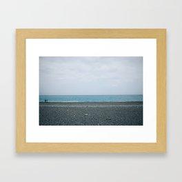 Horizon @ Taiwan Framed Art Print
