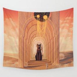 Ninth life Wall Tapestry