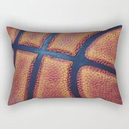 Basketball close-up Rectangular Pillow