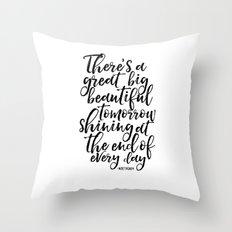 PRINTABLE Art, Quote,Kids Room Decor,Nursery Decor,Quote Prints,Typography Print Walt Throw Pillow