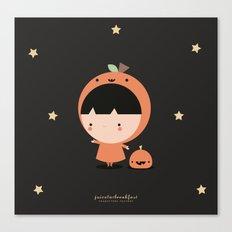 Cute Pumpkin Canvas Print