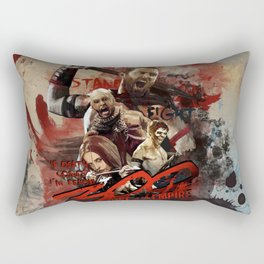 300, rise of an empire Rectangular Pillow