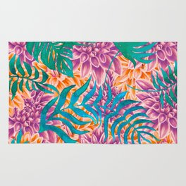 artistic floral cn Rug