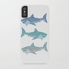 Great White iPhone Case