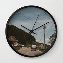 Just Married (II) Wall Clock