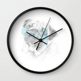 Classy pug Wall Clock