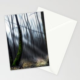 Searching the light Stationery Cards