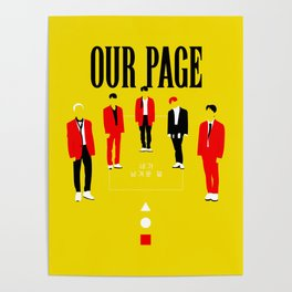 SHINee - Our Page Poster