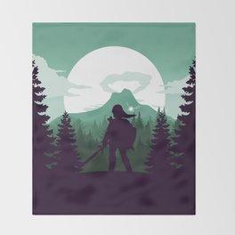 The Legend of Zelda - Green Version Throw Blanket
