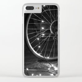 Hope in the Spokes Clear iPhone Case