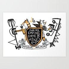 Imperial Mindset Art Print