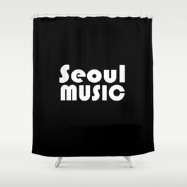 Seoul Music Shower Curtain