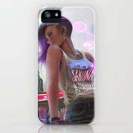 Sakuna Kawama: Sombra iPhone Case