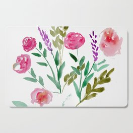Country Bouquet Cutting Board