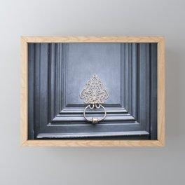 Feeling Blue Framed Mini Art Print