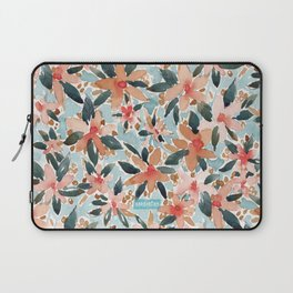 LAHAINA DANCE Tropical Floral Laptop Sleeve