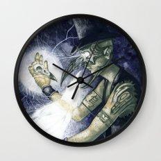 Shadow Man 3 Wall Clock
