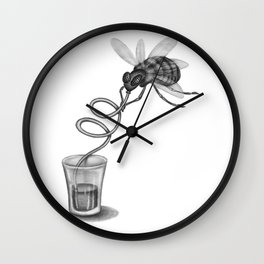 Fine Mouche 1 Wall Clock