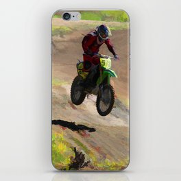 Motocross Moguls iPhone Skin