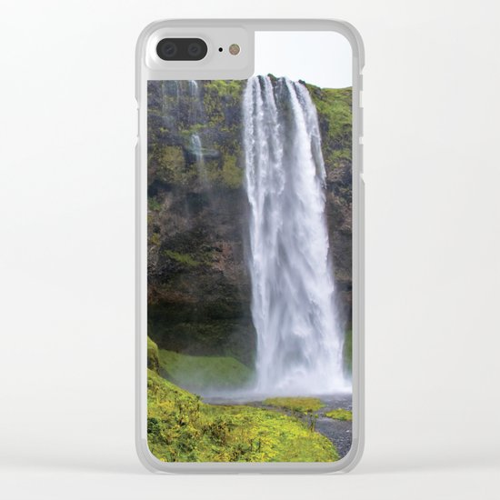 Water You Doing? Clear iPhone Case
