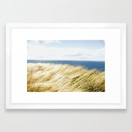 Cliff Framed Art Print