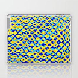 Brain Coral Dark Blue Banded Cross Small Polyps - Coral Reef Series 030 Laptop & iPad Skin