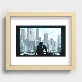 Ghost in the Shell Recessed Framed Print