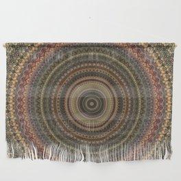 Vintage Bohemian Mandala Textured Design Wall Hanging