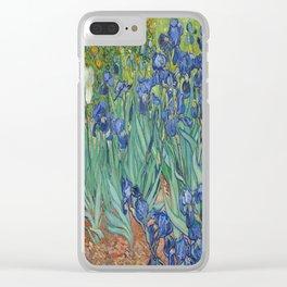 Vincent van Gogh's Irises Clear iPhone Case