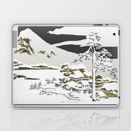 Snowy Mountain Landscape Laptop & iPad Skin