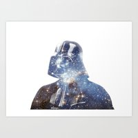 vader Art Prints featuring Vader by O   N   E