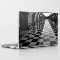 moscow Laptop & iPad Skins featuring Moscow Metra by Kim Ramage