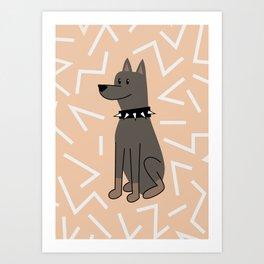 The Doberman Art Print