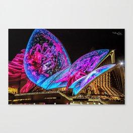 Vivid Festival Sydney (3) Canvas Print