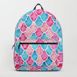 Colorful Moroccan style pattern Backpack