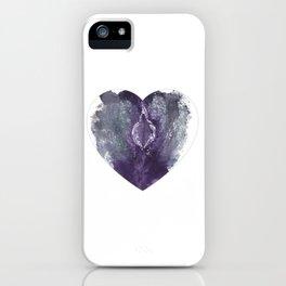 Verronica Kirei's Vulva Valentine iPhone Case