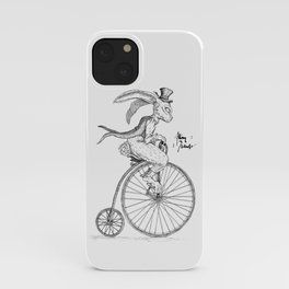 Pennyfarthing iPhone Case