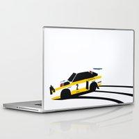 audi Laptop & iPad Skins featuring Quattro S1 by Cale Funderburk