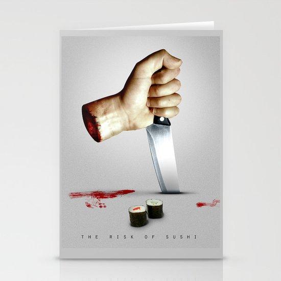 Sushi Rise Stationery Cards