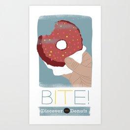 Bite IT! Art Print