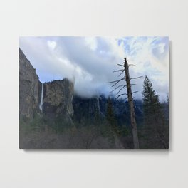 Yosemite Valley - Positives & Negatives Metal Print