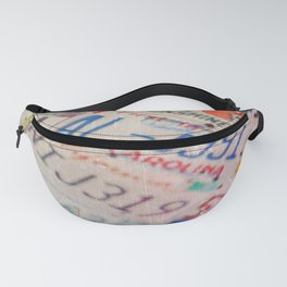 New Yorker Interior Fanny Pack