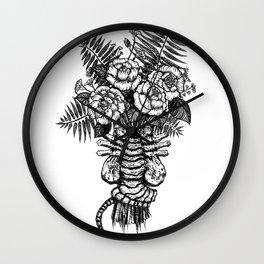 Facehugger Bouquet Wall Clock